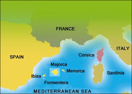 Image result for south west mallorca map